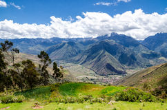 The Andes in Peru. Near the city of Cusco Royalty Free Stock Images