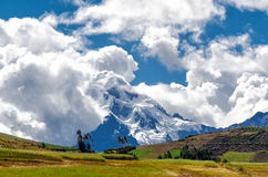 The Andes in Peru. Near the city of Cusco Stock Image