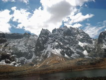 Andes peruanos Royalty Free Stock Images