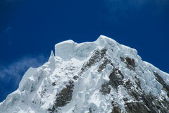 Andes snow mountains, Huascaran stock photos