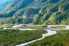 From Andes to Amazon, Pastaza province stock photo