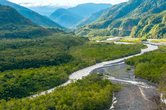 From Andes to Amazon, Pastaza province Royalty Free Stock Image