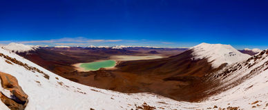 Andeslandschap op grote hoogte Royalty-vrije Stock Foto's
