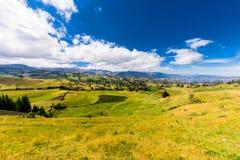 Andeslandschap Zuid-Amerika Royalty-vrije Stock Afbeelding