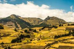 Andeslandschap Zuid-Amerika Royalty-vrije Stock Foto's