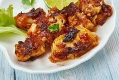 Andhra chepa vepudu. South Indian Andhra Fish Fry stock image