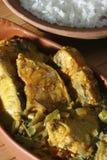Andhra Chepala Pulusu or Tamarind fish curry. Andhra Chepa Pulusu is a dish made with fish cooked in tamarind juice and masala. Chapala pulusu contains fish as stock photos