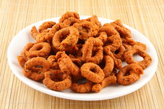 Andhra Murukku. A famous all time snack royalty free stock images