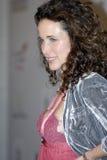 andie κόκκινο ταπήτων macdowell Στοκ εικόνα με δικαίωμα ελεύθερης χρήσης