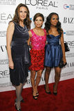 Andie Macdowell, Eva Longoria, Kerry Washington Stock Images