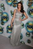 Andie macDowell przy HBO 2012 Złotym Kuli ziemskiej Nagród Poczta Przyjęciem, Beverly Hotel Hilton, Beverly Hills, CA 01-15-12 Zdjęcia Royalty Free