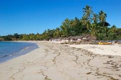 Andilana beach, Nosy Be, Madagascar Royalty Free Stock Photography