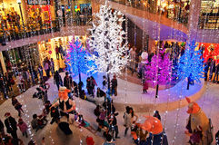 Andino Mall at Christmas Royalty Free Stock Images