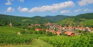 Andlau,Alsace,France Stock Photo