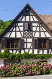 Andlau (Alsace) - House Royalty Free Stock Image