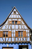Andlau (Alsace) - House Stock Image