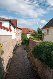 Andlau village in Alsace Stock Photography
