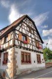 Andlau village in Alsace Royalty Free Stock Photos