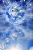 Andlig jord royaltyfri illustrationer