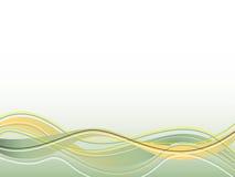 andlig waveyellow vektor illustrationer