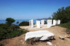 Andlighet av marmorn royaltyfria foton