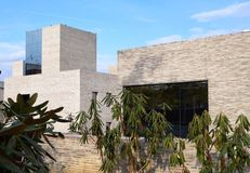 Andlinger centrum dla energii i środowisko przy uniwersytet princeton fotografia royalty free