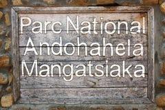 Andohahela Mangatsiaka National Park Stock Images