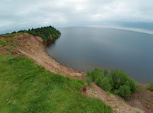 Andoma Cape at the Lake Onega, Russia Royalty Free Stock Photo