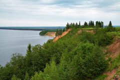 Andoma Cape at the Lake Onega, Russia Royalty Free Stock Photography