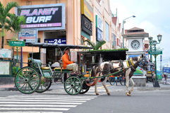 2 Pedicabs Стоковые Фото