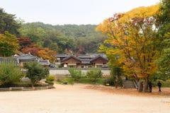 ANDONG, KOREA - OKTOBER 24, 2010: Dosan Seowon Royalty-vrije Stock Foto