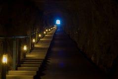 Andong Tunnel in Dongyin, Matsu, Taiwan Stock Photos