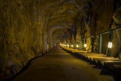 Andong Tunnel in Dongyin, Matsu, Taiwan Stock Image
