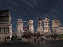 Andoria city Stock Photos