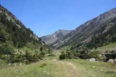 Andorra. Valley of sorteny in Andorra, Pyrenees royalty free stock images