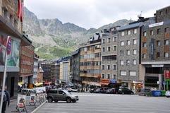 Andorra. The beautiful city in Andora, Andorra la Vella Stock Images