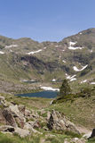 Andorra. Beautiful mountain landscape in the Pyrenees, Andorra Royalty Free Stock Images