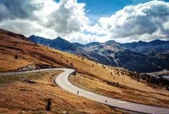 Andorra EL Pas de la Casa foto de stock