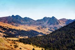 Andorra El Pas De Los angeles Casa Fotografia Stock
