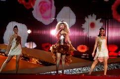 andorra eurovision Royaltyfria Foton