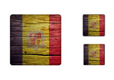 Andorra Flag Buttons Royalty Free Stock Image