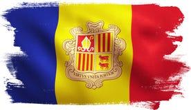 Andorra Flag Royalty Free Stock Photos