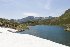 Andorra in July. Summer landscape of the Pyrenees Royalty Free Stock Image