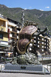 Andorra. Klocka Dali. Royaltyfria Bilder