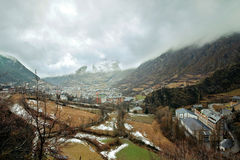 Andorra-la-Vella Royalty Free Stock Photography