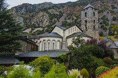 Andorra la Vella church Royalty Free Stock Photography