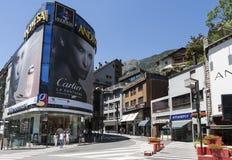 Andorra la Vella Stock Photography