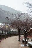 Andorra la Vella streets Royalty Free Stock Images