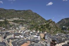 Andorra la Vella , 2014 Royalty Free Stock Photos