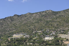 Andorra la Vella , 2014 Royalty Free Stock Photography